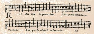 Riu Riu original melody