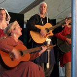 Ken And Lisa Theriot Concert At Pennsic 2016